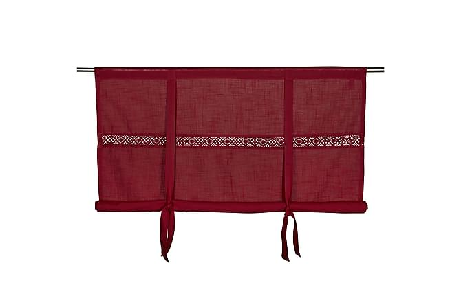 Hissgardin Sanna 180x120 cm Röd - Fondaco - Inredning - Textilier - Gardiner