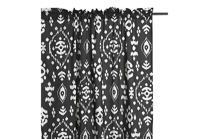 Kanallängd Omar 110x240 cm Svart - Mogihome - Inredning - Textilier - Gardiner