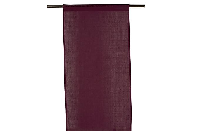Panellängd Danis 2-pack 43x240 cm Maroon - Fondaco - Inredning - Textilier - Gardiner