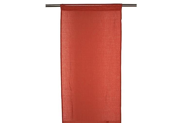 Panellängd Danis 2-pack 43x240 cm Orange - Fondaco - Inredning - Textilier - Gardiner