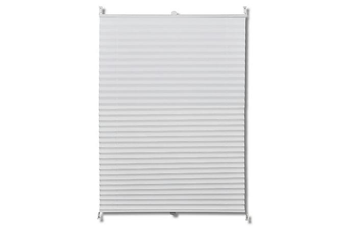 Plisségardin 70x200 cm vit - Vit - Inredning - Textilier - Gardiner