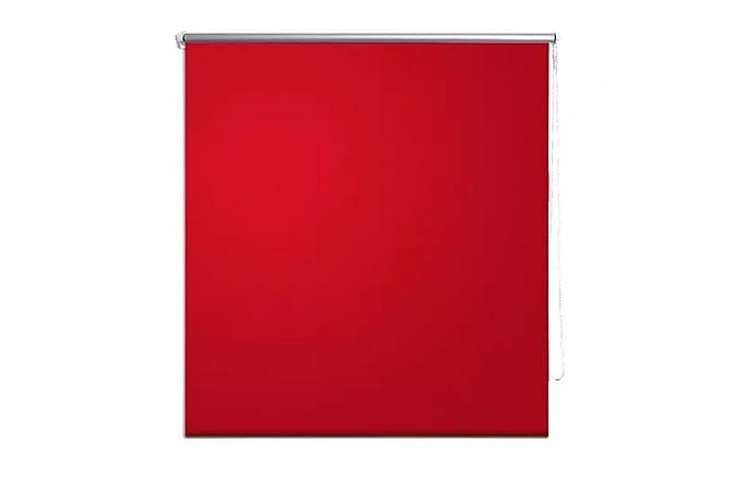 Rullgardin mörkläggande 40x100 cm röd - Röd|Vit - Inredning - Textilier - Gardiner