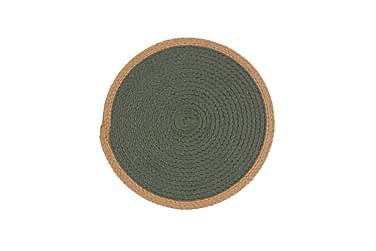 Tablett Nour 38 cm Grön