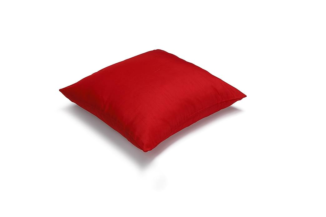 Etol Kuddfodral Metallo 45x45 cm - Hallon - Inredning - Textilier - Kuddfodral