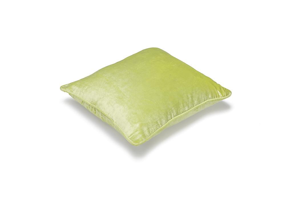Etol Kuddfodral Velvet 45x45 cm - Lime - Inredning - Textilier - Kuddfodral