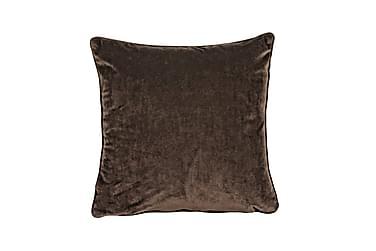 Kuddfodral Velvet 45x45 cm Sammet Kaffe