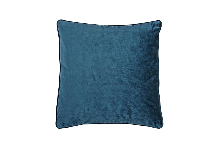 Kuddfodral Velvet 45x45 cm Sammet Petrol - Fondaco - Inredning - Textilier - Kuddfodral