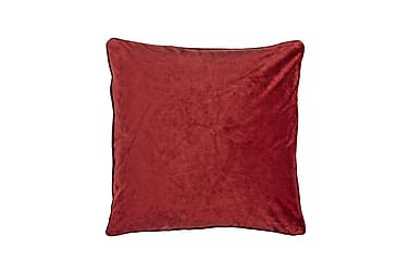 Kuddfodral Velvet 45x45 cm Sammet Röd