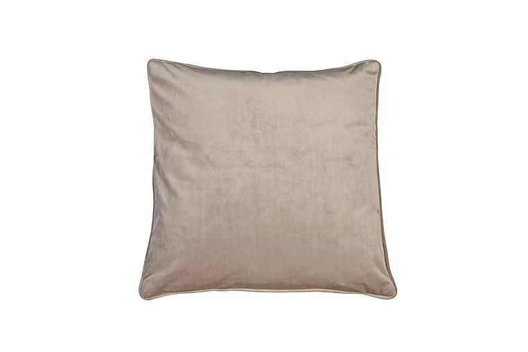 Kuddfodral Velvet 45x45 cm Sammet Sand - Fondaco - Inredning - Textilier - Kuddfodral