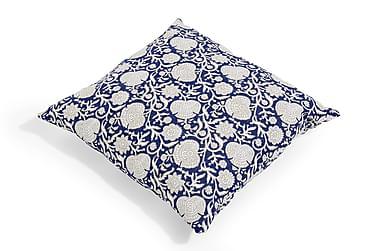 Kuddfodral Vintage Blue 60x60 cm Blå