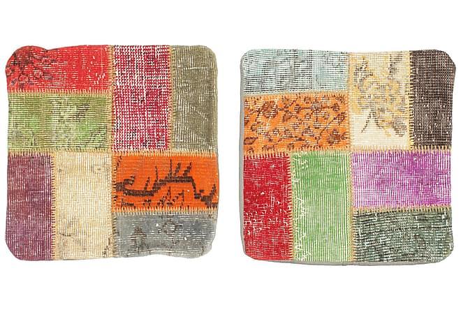 Patchwork Kuddfodral 2-pack 50x50 Orientalisk - Flerfärgad - Inredning - Textilier - Kuddfodral