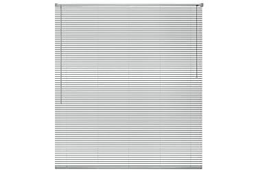 Persienner Tennille 100x130 cm Aluminium