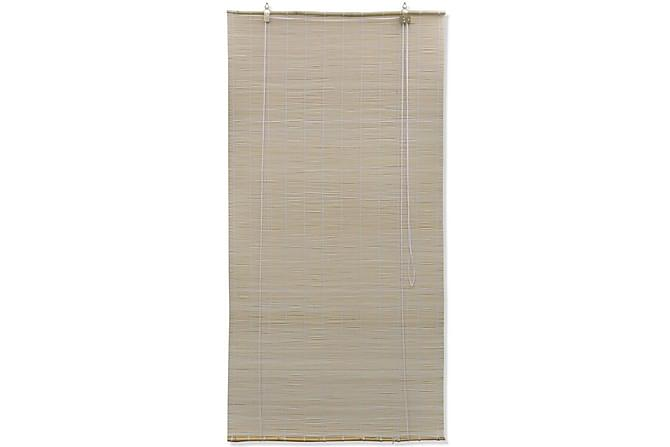 Rullgardin naturlig bambu 120 x 220 cm - Beige - Inredning - Textilier - Persienner