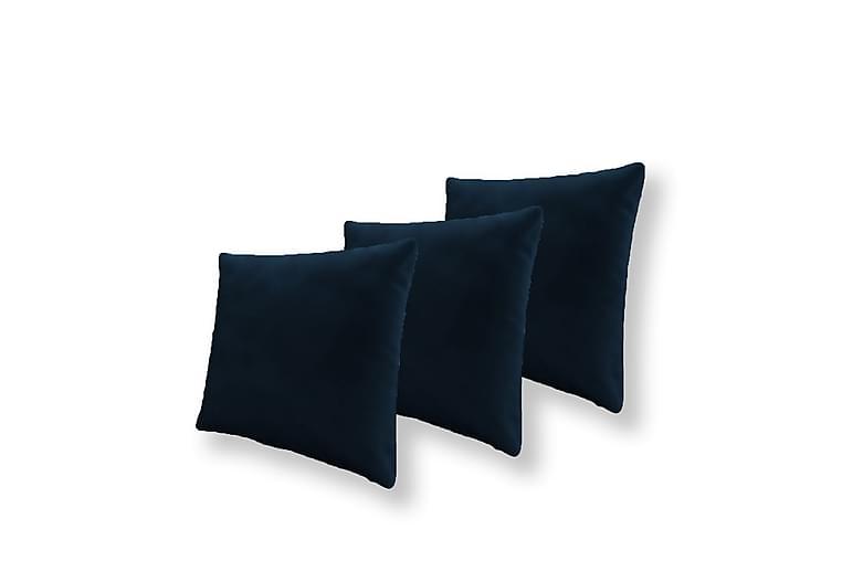 3x Kudde 50x50 - Blå - Inredning - Textilier - Prydnadskuddar