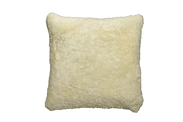 Kudde Fårskinn 45x45 cm Creme