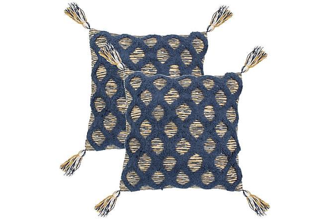 Kudde Gerville 2-pack 60x60 cm Bohemisk - Flerfärgad - Inredning - Textilier - Prydnadskuddar