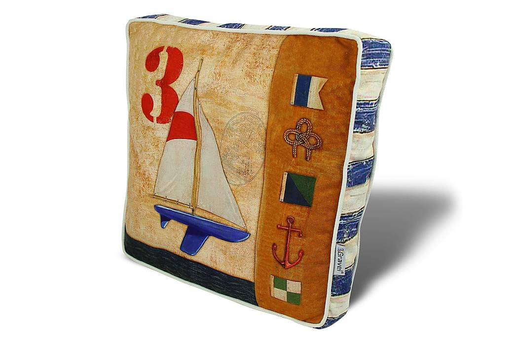 Kudde Gravel 42x42 cm - Flerfärgad - Inredning - Textilier - Prydnadskuddar
