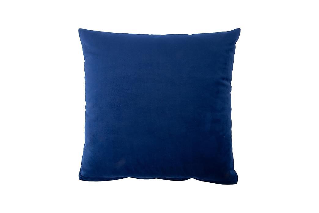 Prydnadskudde Holly Blå - Inredning - Textilier - Prydnadskuddar