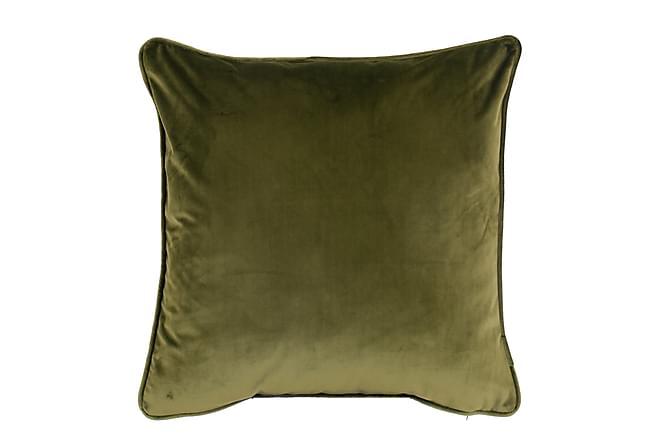 Sammetskudde Chevonne 45x45 cm - Olivgrön - Inredning - Textilier - Prydnadskuddar