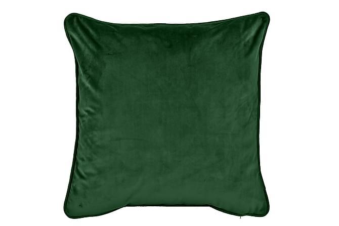 Sammetskudde Chevonne 45x45 cm - Skogsgrön - Inredning - Textilier - Prydnadskuddar