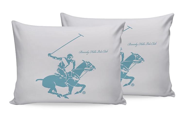 Örngott Beverly Hills Polo Club 2-pack - Vit - Inredning - Textilier - Sängkläder