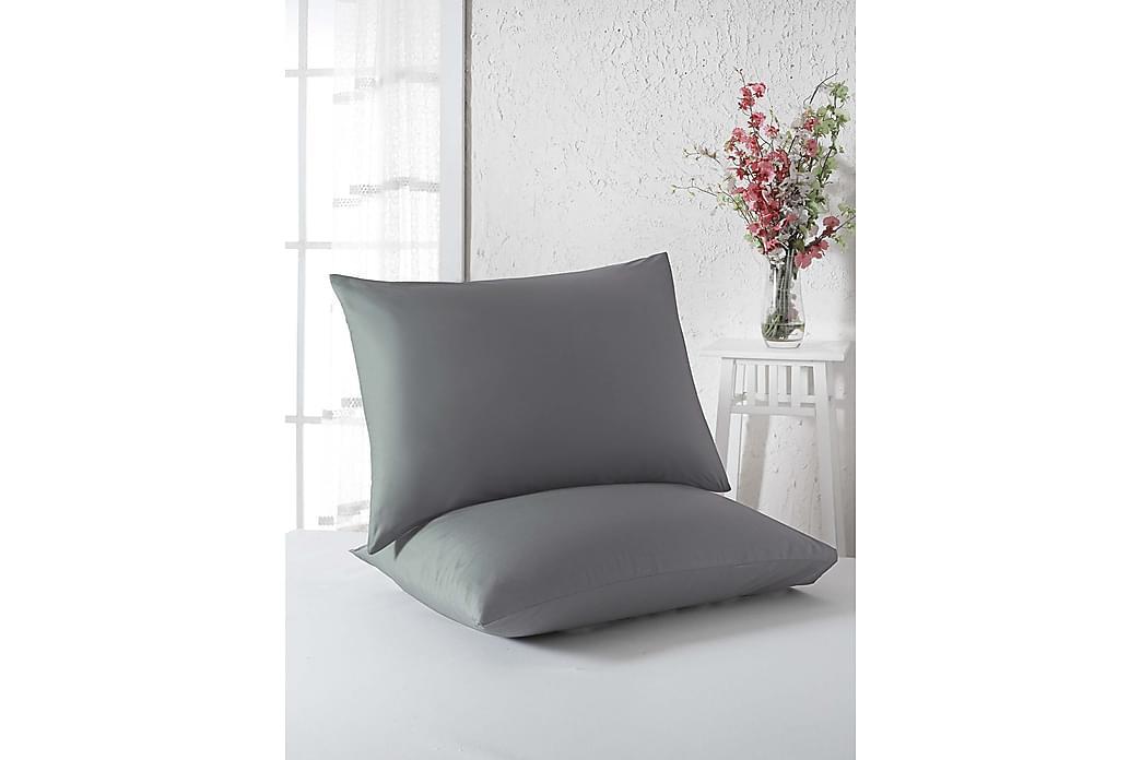 Örngott Eponj Home 50x70 cm 2-pack - Grå - Inredning - Textilier - Sängkläder