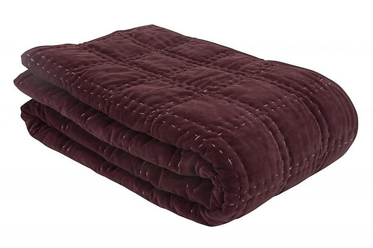 Överkast Bordeaux Burgundy - Borås Cotton - Inredning - Textilier - Sängkläder