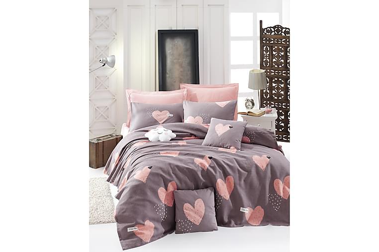 Överkast EnLora Home - Rosa - Inredning - Textilier - Sängkläder