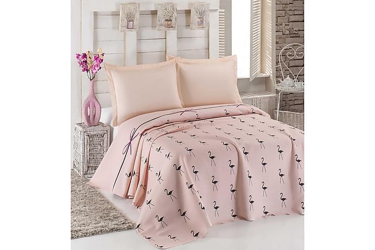 Överkast Eponj Home Dubbelt 200x235 cm - Rosa Svart - Inredning - Textilier - Sängkläder