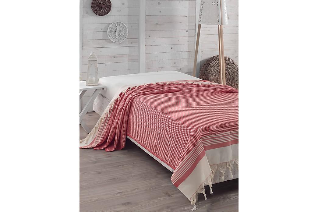 Överkast Eponj Home Dubbelt 200x240 cm - Röd Sand - Inredning - Textilier - Sängkläder