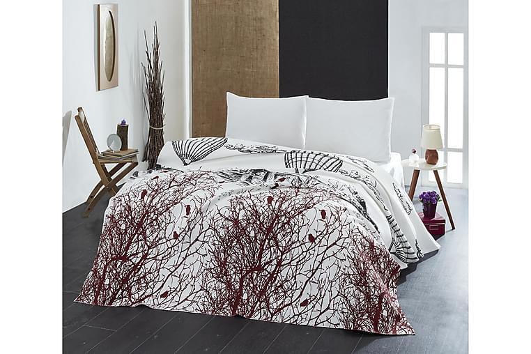 Överkast Eponj Home Enkelt 160x235 cm - Vit|Svart|Brun - Inredning - Textilier - Sängkläder