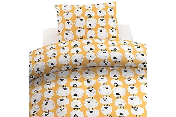 2-Dels Set Albert Gul - Borganäs - Inredning - Textilier - Sängkläder