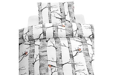 Bäddset Bare Trees 2-dels Röd