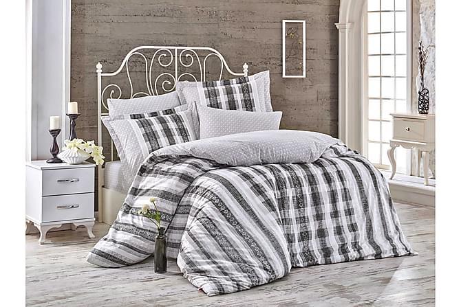 Bäddset Hobby Enkelt 3-dels Poplin - Svart|Vit|Grå - Inredning - Textilier - Sängkläder