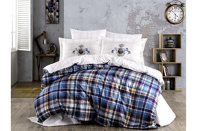 Bäddset Hobby Enkelt 3-dels Poplin - Vit|Multi - Inredning - Textilier - Sängkläder