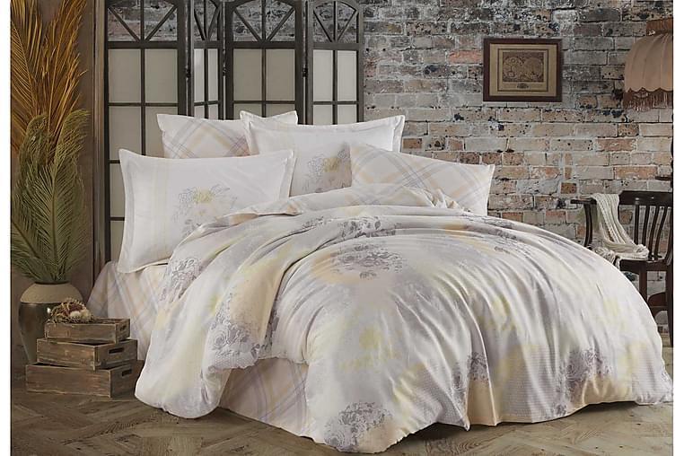 Bäddset Hobby Exclusive Satin - Gul - Inredning - Textilier - Sängkläder