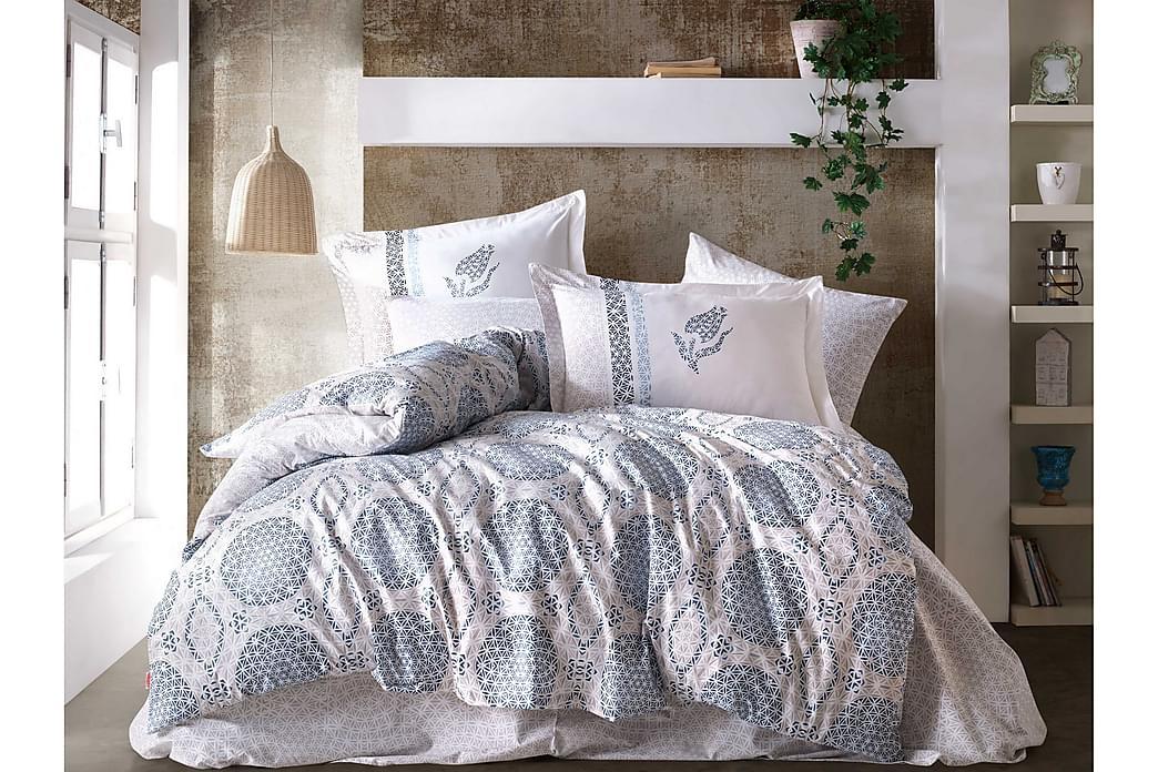 Bäddset Hobby Poplin - Blå - Inredning - Textilier - Sängkläder