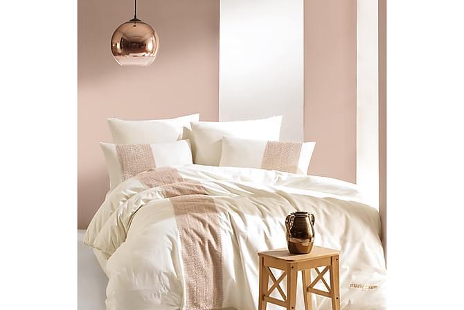 Bäddset Marie Claire Dubbelt 4-dels Ranforce - Creme - Inredning - Textilier - Sängkläder