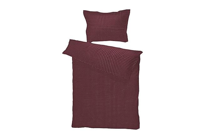 Bäddset Piazza 220x230 cm Satin Aubergine - Borås Cotton - Inredning - Textilier - Sängkläder