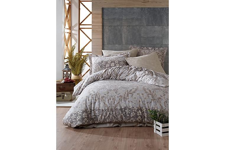 Bäddset Primacasa by Türkiz Ranforce - Brun - Inredning - Textilier - Sängkläder