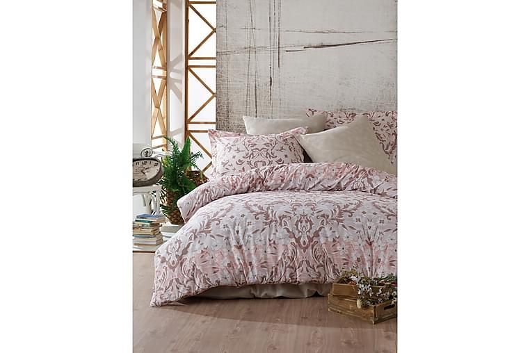 Bäddset Primacasa by Türkiz Ranforce - Rosa - Inredning - Textilier - Sängkläder
