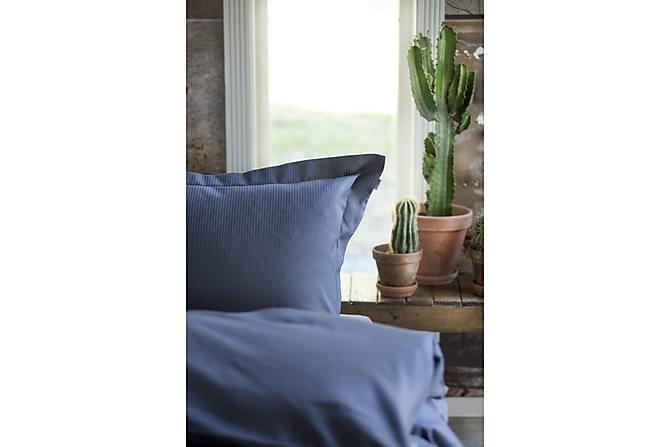 Bäddset Turistripe 220x230 cm Satin Mörkblå - Turiform - Inredning - Textilier - Sängkläder