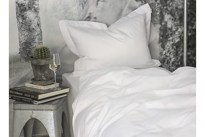 Bäddset Turistripe 220x230 cm Satin Vit - Turiform - Inredning - Textilier - Sängkläder