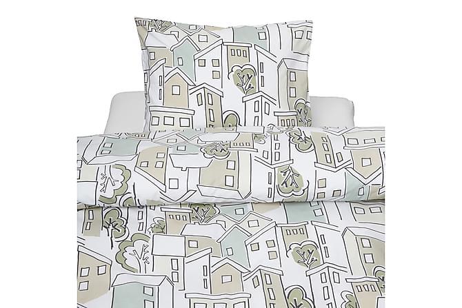 Bäddset Village 2-dels Flerfärgad - Borganäs - Inredning - Textilier - Sängkläder