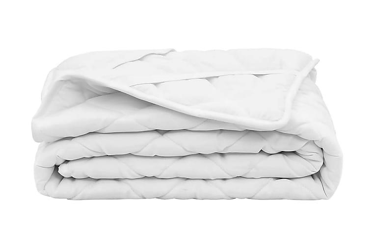 Kviltat madrasskydd vit 70x140 cm tungt - Vit - Inredning - Textilier - Sängkläder