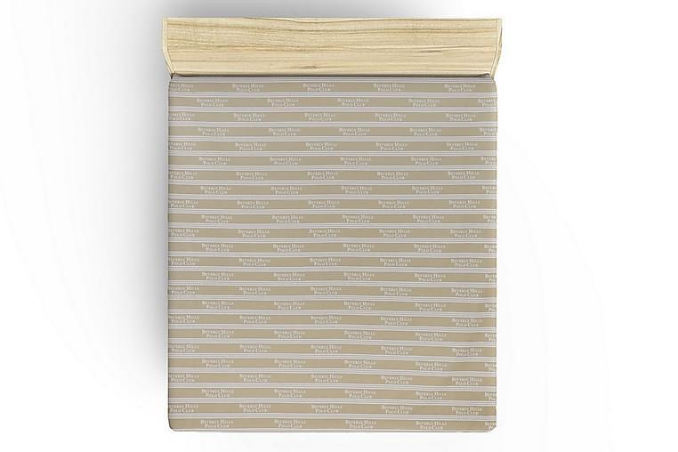 Lakan Beverly Hills Polo Club Dubbelt 240x260 cm Ranforce - Creme|Vit - Inredning - Textilier - Sängkläder