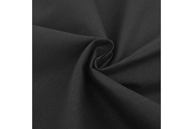 Påslakan 155x220/80x80 cm bomull - Svart - Inredning - Textilier - Sängkläder
