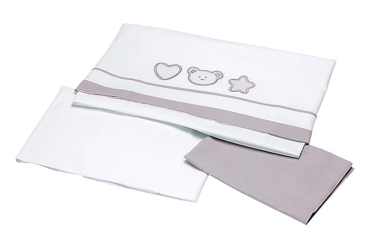 Påslakan Spjälsäng Barn Barabo 3-dels - Flerfärgad - Inredning - Textilier - Sängkläder