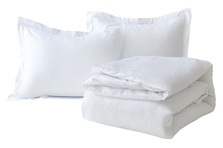 Påslakanset 400 tc EKO Egyptisk Bomullssatin Ella - Beckasin - Inredning - Textilier - Sängkläder