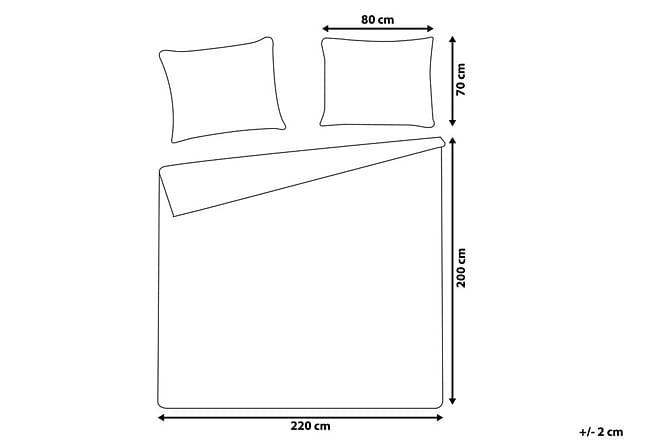 Påslakanset Fermo 200 220 cm - Svart - Inredning - Textilier - Sängkläder